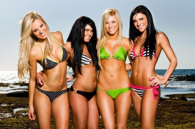 modelle in bikini