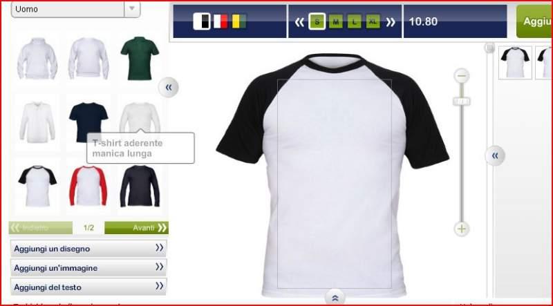 stampare magliette personalizzate