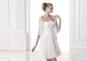 vestito corto da sposa